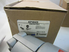 APPLETON 100 AMP 3W 4P PLUG ACP1034CD  NEW IN BOX MATES WITH ADR1034