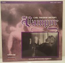 Vampyr (Vampir) (1932) [ID7394DS] Laserdisc includes 1932 Short The Mascot