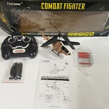 Helizone Combat Fighter Remote Control Missile launching helicopter