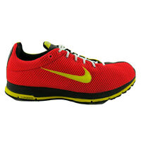 Nike Zoom ID Jasari Red Yellow Lace Up Running Shoes 319418-991