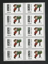 2015 Holiday A Charlie Brown Christmas Vended ATM Sheet of 10 CVP93