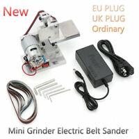 Grinder Electric Belt Sander Sharpener DIY Mini Polishing Grinding Belt Machine