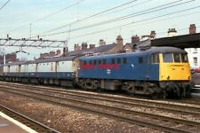 PHOTO  CLASS 81 ELECTRIC 81008 AT STAFFORD ON 29/04/87.
