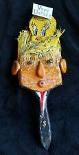 President Donald Trump~Original Paintbrush Sculpture~Signed~Support/Protest Art