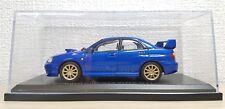 1/43 Norev 2004 SUBARU IMPREZA WRX STI BLUE diecast car model