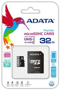 32GB micro SD Card Class 10 for Samsung S8 S9 TF Flash Memory Card SDHC 50MB/s
