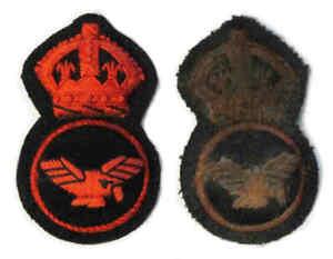 WW1 RAF Cap Badge RNAS WWI Royal Air Force Naval Air Service Enlisted 1st Patt.