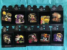 New ListingDisney 10 pins Halloween Eeyore Tigger Piglet Pooh Rabbit Pluto Donald Mickey +