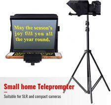 Mini Teleprompter Portable Inscriber Teleprompter Artifact Video for Phone DSLR