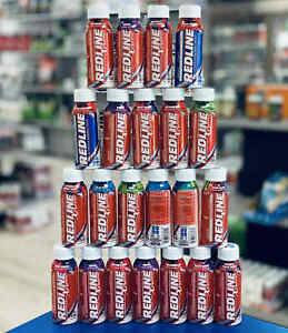 VPX Redline Xtreme Energy Drink 24 PACK, 8 Fl oz RTD - BCAA's + Electrolytes
