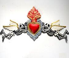 Flying Skeleton Angels w/Heart Guirnalda Door Portal #956