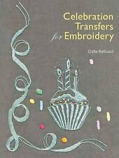 Celebration Transfers for Embroidery by Odile Bailloeul