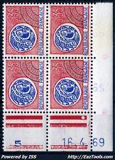 FRANCE PREO N° 127 COIN DATE 16/04/1969 NEUF ** SANS CHARNIÈRE