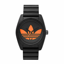 Adidas Mens ADH2880 Santiago Black Silicone Quartz Watch