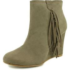Wedge Comfort Synthetic Boots for Women