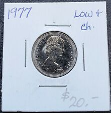 1977-PL Proof-Like Nickel 5 Five Cent /'77 Canada//Canadian BU Coin Un-Circulated