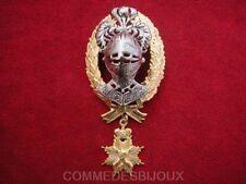 """Broche """"Armet de Chevalier"""" Temps Médiéval - Bijoux Vintage Butler & Wilson"""
