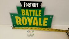 Wall Plaque Fortnite Royale Black Yellow Green