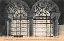 FONTEVRAULT - Ancienne abbaye, fenêtres de la Salle Capitulaire