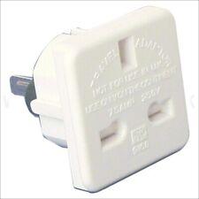 Mains Travel Adaptor (converts UK plug to Australian / USA plug) 10.0 Amps