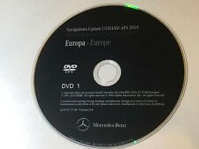 2019 DVD FOR MERCEDES NTG2.5 SAT NAV UNITS LATEST EUROPE MAP DISC