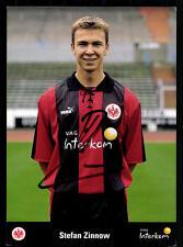 Stefan Zinnow Autogrammkarte Eintracht Frankfurt 1999-00 Original Sign + A 74002