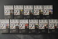 JAPAN Akimi Yoshida Manga LOT: Banana Fish (Shogakukan Bunko) 1~11 Complete Set