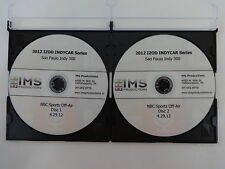 2012 Sao Paulo Indy 300 Full Race DVD IMS Productions IZOD IndyCar Series