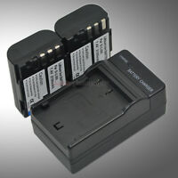 Mains Charger +2x D-Li90 DLI90 Battery for Pentax K01 K3 K5 K-5 II IIs K7 645D