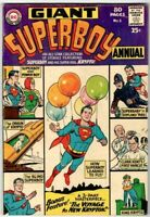 Giant Superboy Annual Summer 1964 #1 - 80 Pages - DC Super Solid Copy!