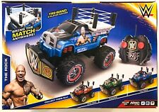 WWE Rolling Ring The Rock Nikko RC Truck Vehicle New Kids Radio Control Toy 8+