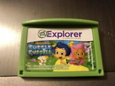 LeapFrog BUBBLE GUPPIES Game Cartridge Leapster Explorer LeapPad