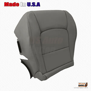 For 1998 - 2007 LX 470 - Front Driver Bottom Synthetic Leather Seat Cover Gray