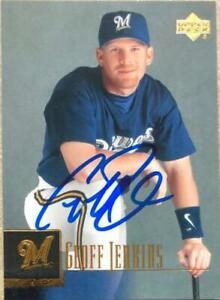 Geoff Jenkins Autographed 2001 Upper Deck #376