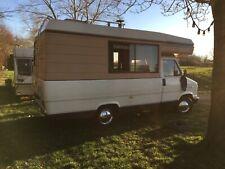 Retro Camper Van Talbot Express Talisman Woodburner MOT June 28th Overcab Bed NR