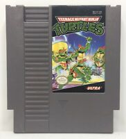 Nintendo NES TMNT Teenage Mutant Ninja Turtles *Authentic/Cleaned/Tested*