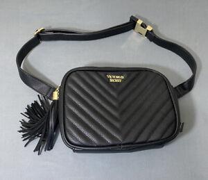 NWT Victorias Secret Faux Leather Belt Bag Purse