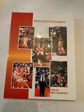 1992-93 Iowa State Cyclone Basketball Media Guide