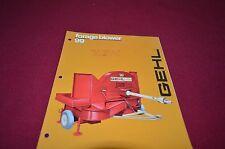 Gehl 99 85 Forage Blower Dealers Brochure DCPA
