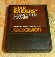 Star Raiders cartridge for Atari 400/800/XL/XE computer COMES GUARANTEED GAME