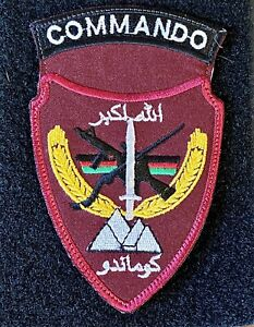 OEF Afghan Commando Special Forces Patch - Theatre Made Hook & Loop Afghanistan