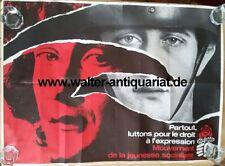 MJS Mouvement de la Jeunesse Socialiste affiche Plakat 1978/79 Original!