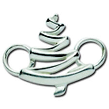 LeStage Convertible Swirl Tree Clasp Sterling Silver
