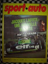 SPORT AUTO 1975 RENAULT 30 FS / SAFARI / 1000 KM DIJON + MUGELLO / n° 160