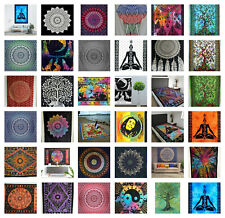Colourful Large Wall Hangings Tapestry Mandala Art Boho Hippie Bed Cover Throw