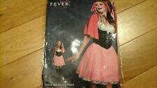 Sexy Little Red Riding Hood Fancy Dress Costume - Fever by Smiffys - Size S 8-10