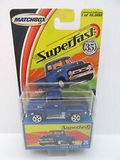 Matchbox Superfast 1956 Ford F-100 Pick-up - Blue - Mint/Boxed