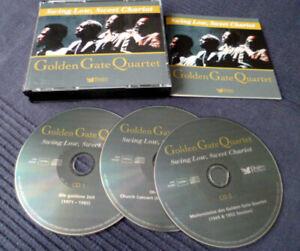 3CD Golden Gate Quartet Best Of GOSPEL Greatest Hits 1971-85 &1949-52 +Christmas
