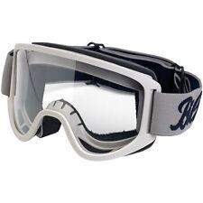 Biltwell Moto 2.0 Goggle - Motorcycle Goggles - Script Titanium