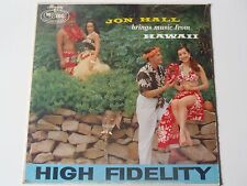 LP 33 tours JON HALL BRINGS MUSIC FROM HAWAII MERURY WING MGW 12141